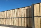 Dombarton Lap and cap timber fencing 1