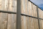 Dombarton Lap and cap timber fencing 2