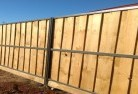 Dombarton Lap and cap timber fencing 4